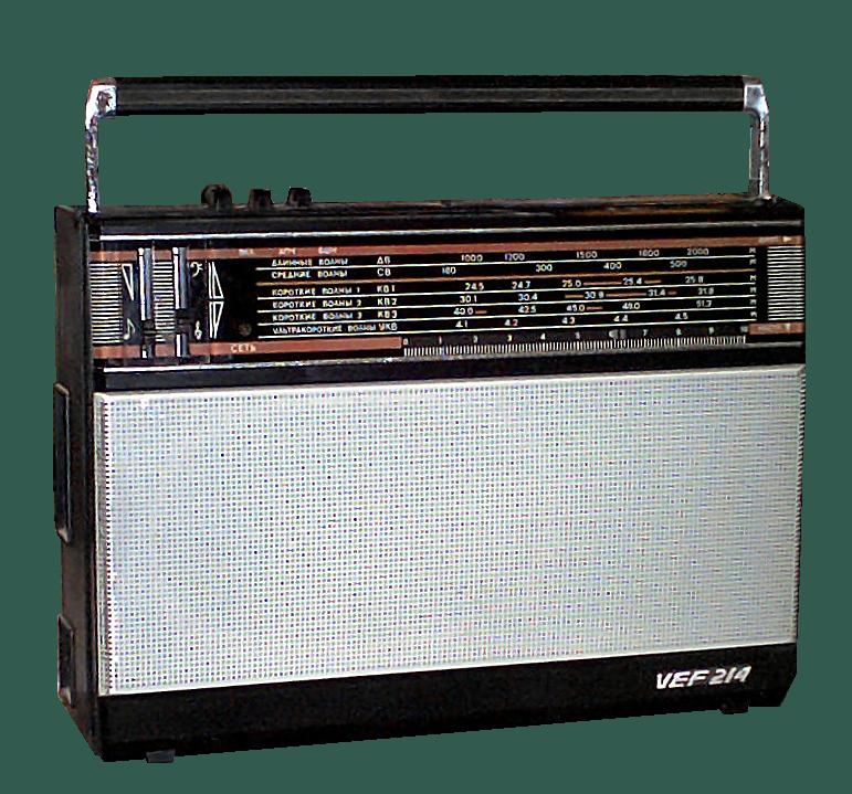 Продам советский радиоприемник VEF-214.